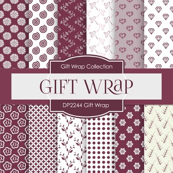 Digital Papers - Gift Wrap (DP2244)