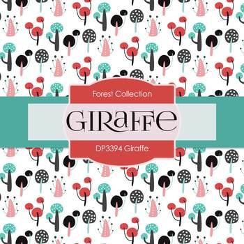 Digital Papers - Giraffe (DP3394)