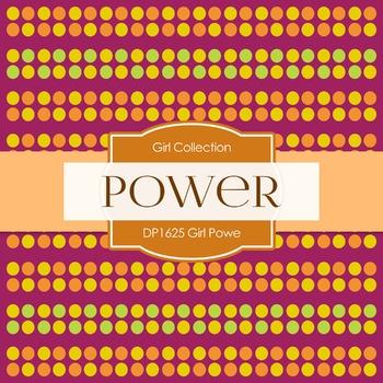 Digital Papers - Girl Power (DP1625)