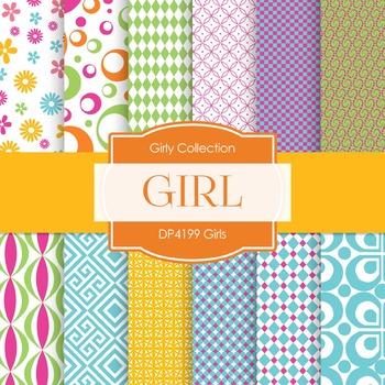 Digital Papers - Girls (DP4199)
