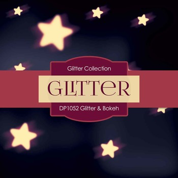 Digital Papers - Glitter Bokeh (DP1052)