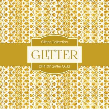 Digital Papers - Glitter Gold (DP4109)
