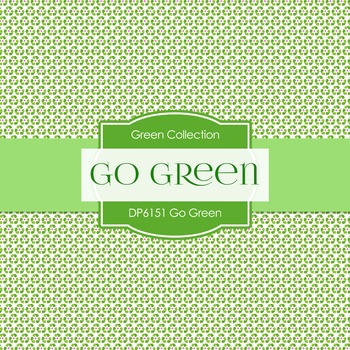 Digital Papers - Go Green (DP6151)