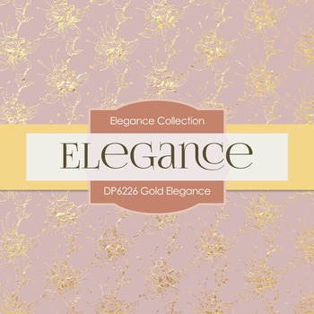 Digital Papers - Gold Elegance (DP6226)
