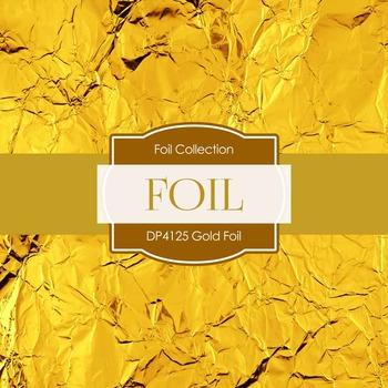 Digital Papers - Gold Foil (DP4125)