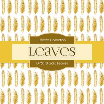 Digital Papers - Gold Leaves (DP6018)