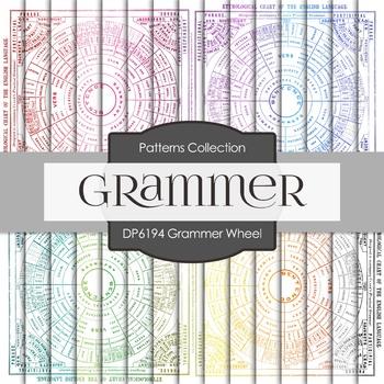 Digital Papers - Grammar Wheel (DP6194)