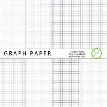 Graph Paper Background  Digital Papers By The Triple Point  Tpt