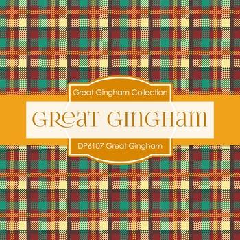 Digital Papers - Great Gingham (DP6107)
