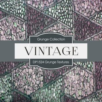 Digital Papers - Grunge Textures (DP1524)