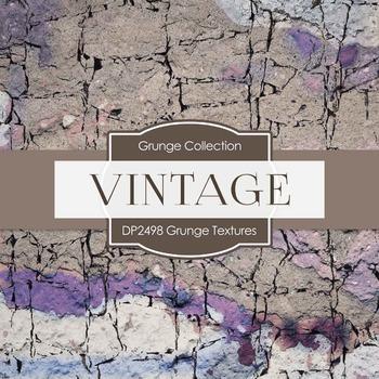 Digital Papers - Grunge Textures (DP2498)