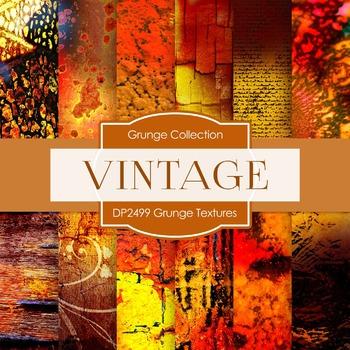 Digital Papers - Grunge Textures (DP2499)