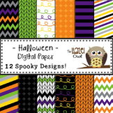 Digital Papers: Halloween