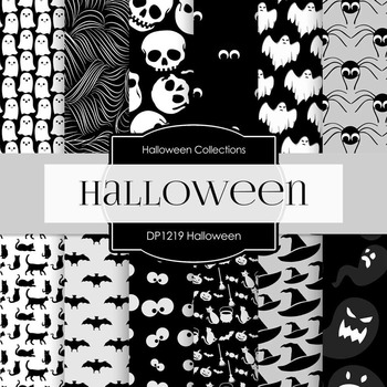 Digital Papers - Halloween (DP1219)