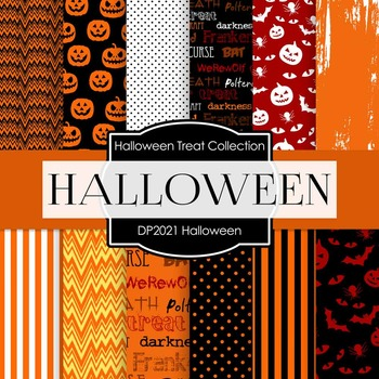 Digital Papers - Halloween (DP2021)