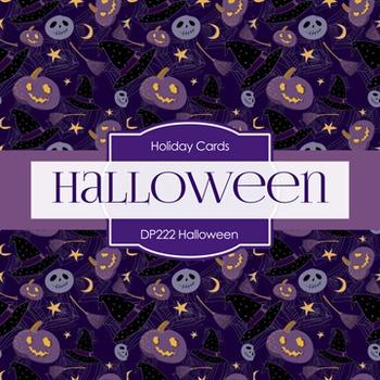Digital Papers -  Halloween (DP222)