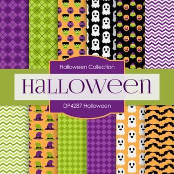 Digital Papers - Halloween (DP4287)