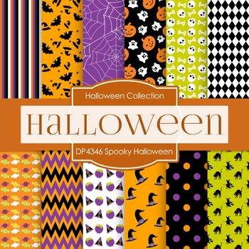 Digital Papers - Halloween (DP4346)