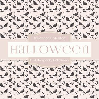 Digital Papers - Halloween (DP4346A)