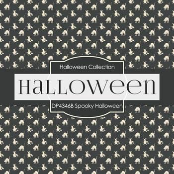 Digital Papers - Halloween (DP4346B)