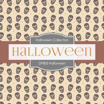 Digital Papers - Halloween  (DP805)