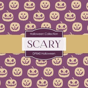 Digital Papers - Halloween (DP840)