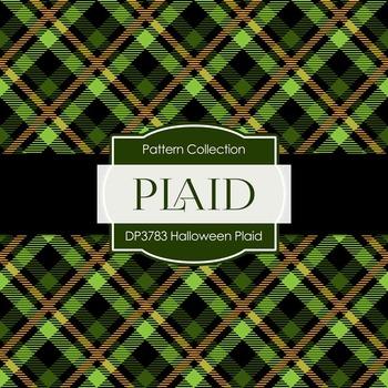 Digital Papers - Halloween Plaid (DP3783)