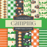 Digital Papers - Happy Camper (DP4884)