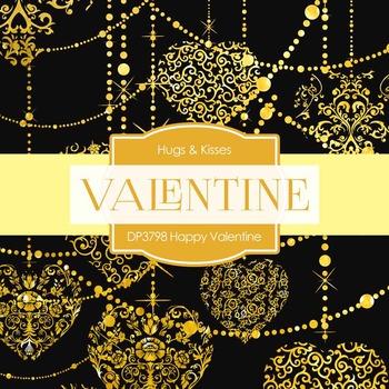 Digital Papers - Happy Valentine (DP3798)