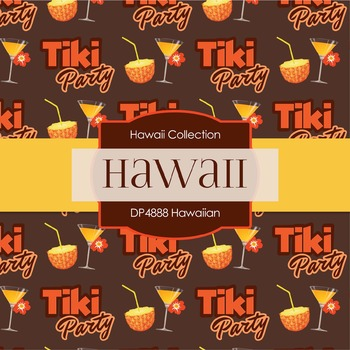 Digital Papers - Hawaiian (DP4888)
