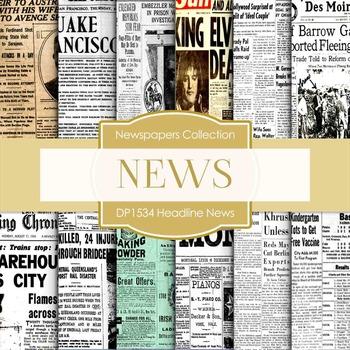 Digital Papers - Headline News (DP1534)