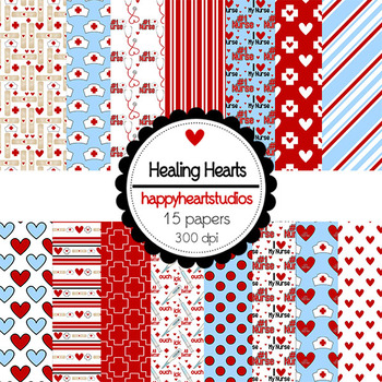 Digital Papers HealingHearts