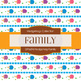 Digital Papers - Hedgehog Family (DP6694)