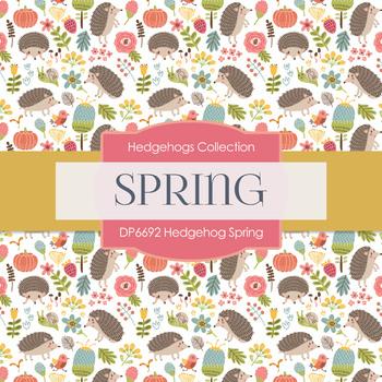 Digital Papers - Hedgehog Spring (DP6692)