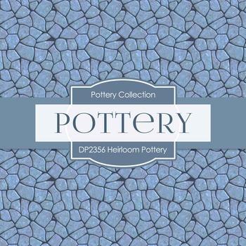 Digital Papers - Heirloom Pottery (DP2356)