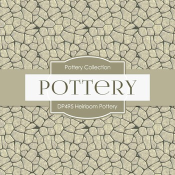 Digital Papers - Heirloom Pottery (DP495)