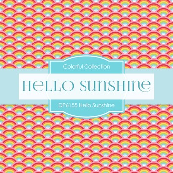 Digital Papers - Hello Sunshine (DP6155)