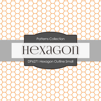 Digital Papers - Hexagon Outline Small (DP6271)