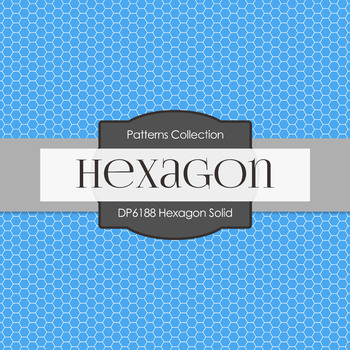Digital Papers - Hexagon Solid (DP6188)
