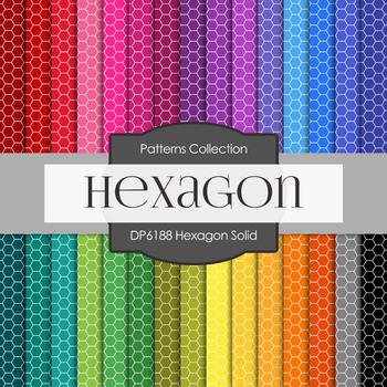 Digital Papers - Hexagon Solid (DP6188)