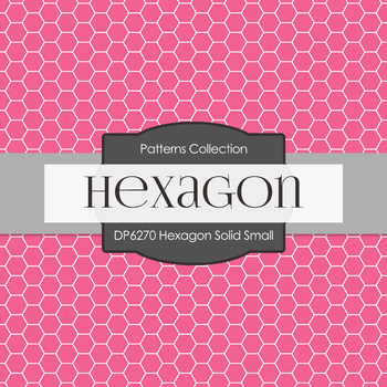 Digital Papers - Hexagon Solid Small (DP6270)