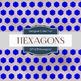 Digital Papers - Hexagons (DP1678)
