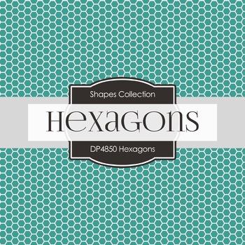 Digital Papers - Hexagons (DP4850)