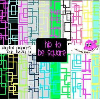 Digital Papers - Hip to be Square