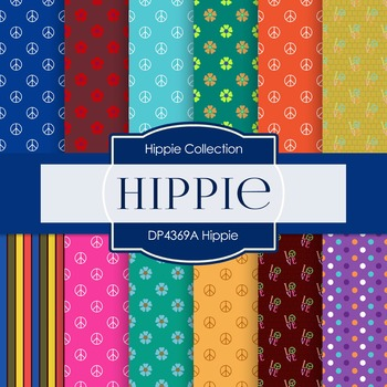 Digital Papers - Hippie (DP4369A)