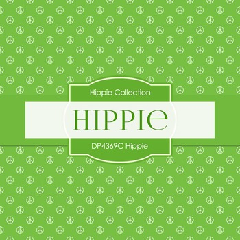 Digital Papers - Hippie (DP4369C)