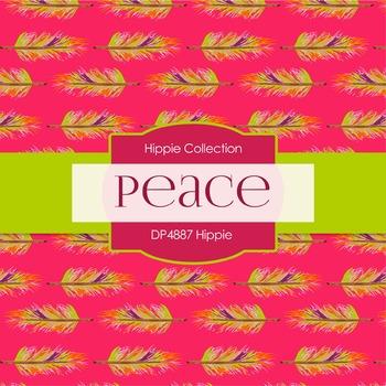 Digital Papers - Hippie (DP4887)