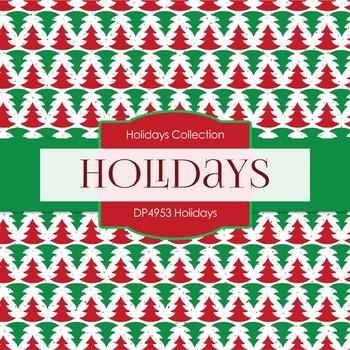 Digital Papers - Holidays (DP4953)