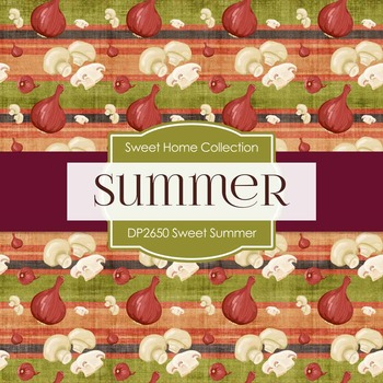 Digital Papers - Home Sweet Summer (DP2650)