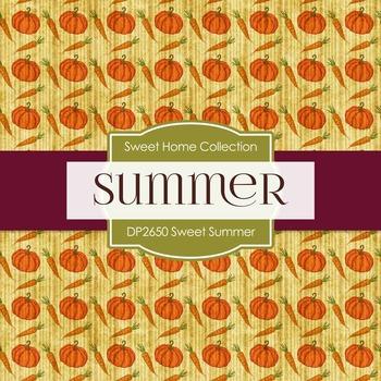 Digital Papers - Home Sweet Summer (DP2650)